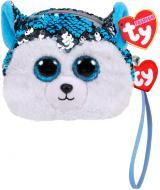 Мягкая игрушка TY кошелек Хаски 95225