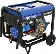 Генератор дизельний EVO LDE6800XE