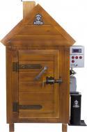 Коптильня Дід Коптенко Комплект холодного та гарячого копчення 150х75х73 см дерево