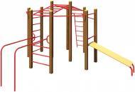 Гімнастичний комплекс InterAtletika S726