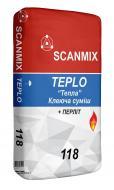 Клей для камінів SCANMIX TEPLO 118 20кг