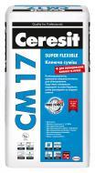 Клей для плитки Ceresit армований мікроволокнами СМ 17 25кг