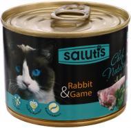 Корм Salutis Chef Nature паштет із м'ясом кролика 190 г 54660