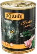 Корм Salutis Classic menu з кроликом 360 г 54667
