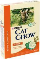 Корм Purina Cat Chow Adult з куркою та індичкою 400 г