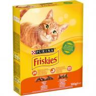 Корм для дорослих кішок Friskies c куркою та овочами 300 г