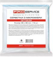 Набір серветок універсальні PROservice Optimum 35х35 см 10 шт./уп. білий