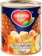Коктейль Tropic Life Тропічний фруктовий у сиропі 425 мл