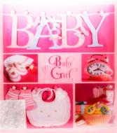 Фотоальбом 20sheet Baby collage pink w/box EVG