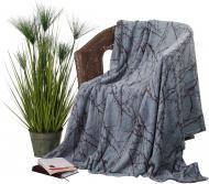 Плед Flannel Гілочка 160x200 см аква La Nuit