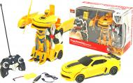 Трансформер на р/к MZ Chevrolet Camaro Yellow 1:22 2342X