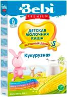 Каша молочна Bebi Premium Кукурудзяна з 5 місяців 200 г