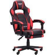 Крісло AMF Art Metal Furniture VR Racer Dexter Webster червоний/чорний