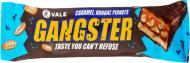 Батончик Vale з арахісом нугою та карамеллю глазурований кондитерською глазур'ю 50 г (Gangster)