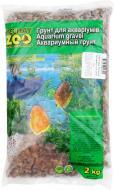 Ґрунт для акваріума Nechay ZOO Кварцит середній рожевий 5-10 мм 2 кг