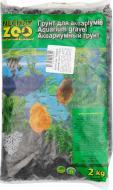 Ґрунт для акваріума Nechay ZOO маленький чорний 2-5 мм 2 кг