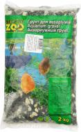 Ґрунт для акваріума Nechay ZOO середній чорно-білий 5-10 мм 2 кг