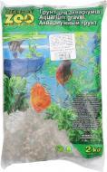 Ґрунт для акваріума Nechay ZOO маленький чорно-рожевий 2-5 мм 2 кг