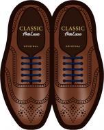 Шнурки силіконові AntiLaces Classic CBL30 синій