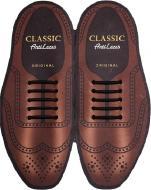 Шнурки силіконові AntiLaces Classic CB40 чорний