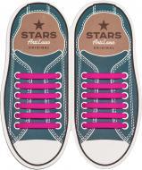 Шнурки силіконові AntiLaces Classic SP565 рожевий