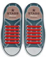 Шнурки силіконові AntiLaces Classic SR565 червоний