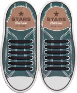 Шнурки силіконові AntiLaces Classic SB565 чорний