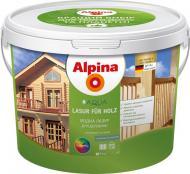 Лазурь Alpina AQUA LASUR FUR HOLZ шелковистый мат 0,75 л