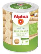 Грунт для дерева Alpina AQUA GRUND FUR HOLZ безцветный мат 0,75 л
