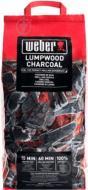 Уголь древесный Weber 3 кг с кубиками для розжига N17671-17670