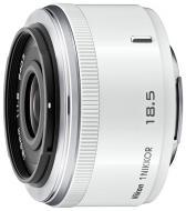 Об'єктив Nikon  1 NIKKOR 18.5mm f/1.8 white