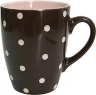 Чашка Funny Dots Chocolate 320 мл M0420-8024B Milika