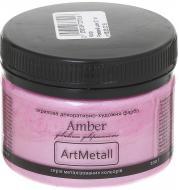 Декоративна фарба Amber акрилова рожевий шовк 0.1кг