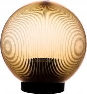 Світильник садовий Expert Light Куля E27 40 Вт IP44 золото призматичне ELNf-S1807-200