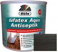 Пропитка Dufa dufatex Aqua Antiseptik венге шелковистый глянец 0,75 л
