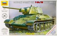 Збірна модель ZVEZDA Радянський середній танк Т-34/76 1:72 5001
