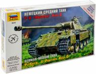 Збірна модель ZVEZDA Німецький середній танк T V Пантера AUSF D 1:72 5010