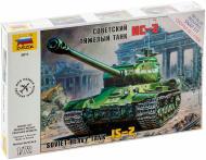Збірна модель ZVEZDA Радянський важкий танк ІС-2 1:72 5011