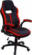 Крісло Special4You Prime E5555 чорно-червоний