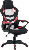 Крісло Special4You Abuse E5586 чорно-біло-червоний