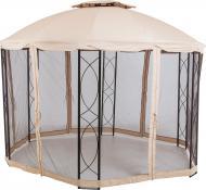 Павильон садовый Indigo с москитной сеткой 3,5х2,7 м DU407