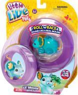 Іграшка інтерактивна Little Live Pets мишеня «Щасливий Лулу» з колесом 28195