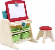 Стол детский со стулом и доской для творчества Flip&Doodle