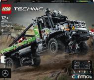 Конструктор LEGO Technic Повнопривідна вантажівка для випробувань Mercedes-Benz Zetros із керуванням з додатка 42129