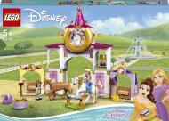 Конструктор LEGO Disney Королівські стайні Белль і Рапунцель 43195