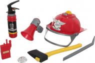 Игровой набор Країна Іграшок Пожарник 8 предметов F011B