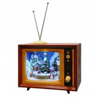 Новогодний телевизор BST 23 см Коричневый (170049)