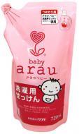 Гель для машинного та ручного прання Arau Baby для дитячого одягу змінний блок 0,72 л