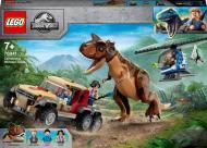 Конструктор LEGO Jurassic World Переслідування динозавра карнотавра 76941