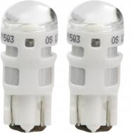 Лампа світлодіодна OSRAM 2880 LED W5W W2.1x9.5d 12 В 1 Вт 2 шт  6000 К